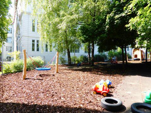 Kinderspielplatz in Spitalgasse, Wien
