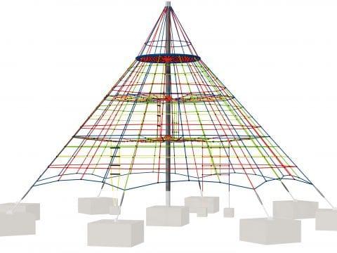 Kletternetzpyramide groß Typ 650