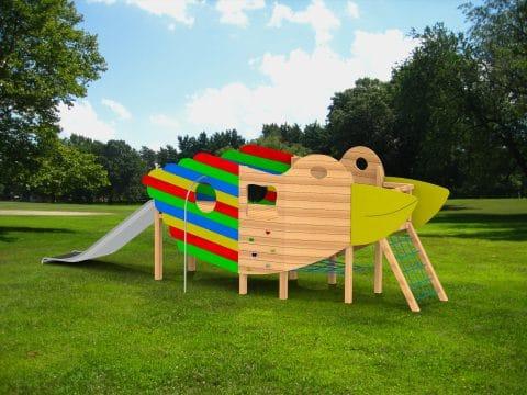 Planung Vogel Spielanlage