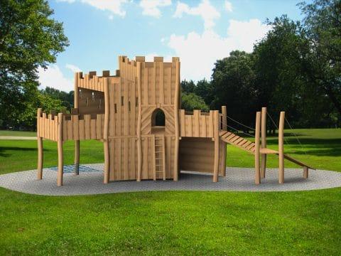 Planung Burganlage