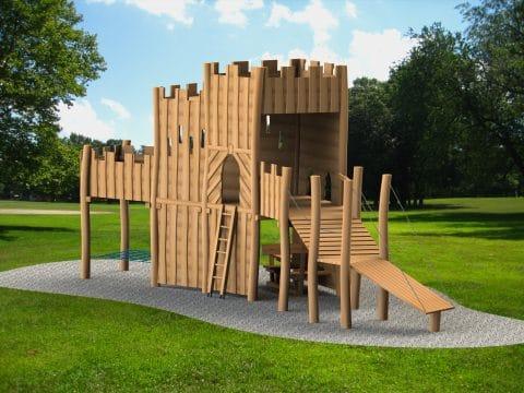 Planung Burg