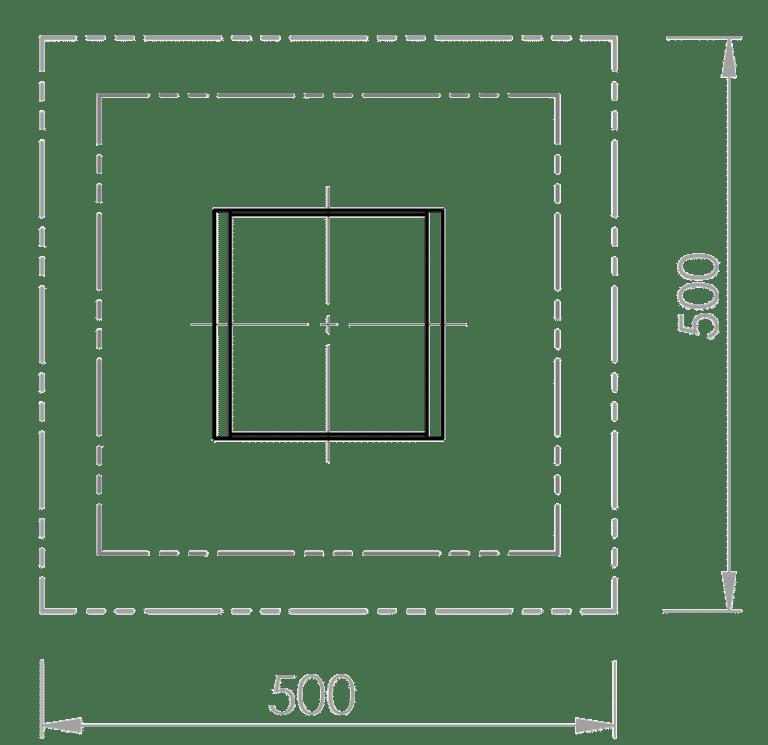 Sandkisten-Standard - Skizze