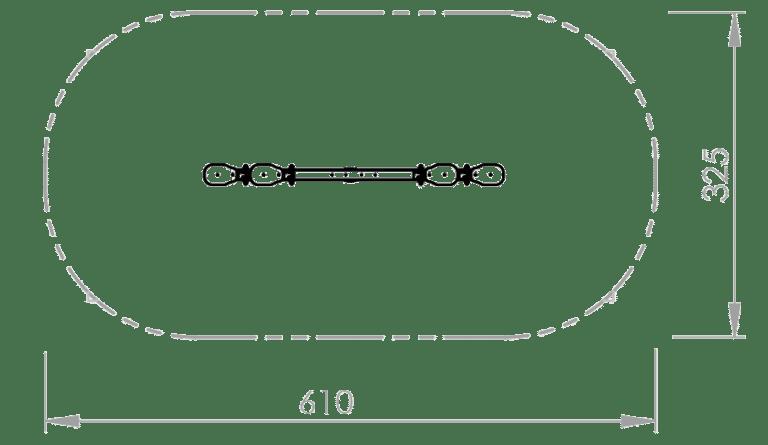 Balkenwippe von FREISPIEL - Skizze