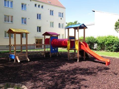 Spielgerätkombination Drei-Turmanlage Sebastian von FREISPIEL, dem Spielplatzbauer, kaufen