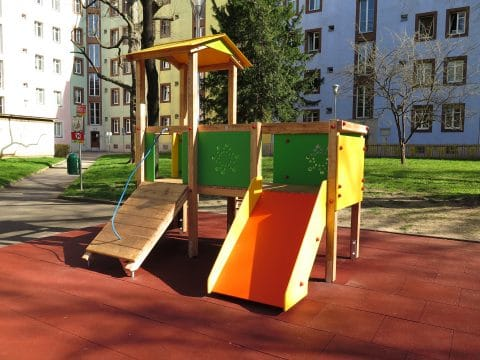 Spielgerätkombination Doppel-Turmanlage Sophie von FREISPIEL