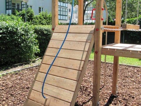 Schräge Rampe mit Seil Basic & Premium