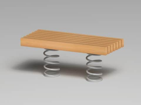 Sit & Move Bench 120 x 46 cm