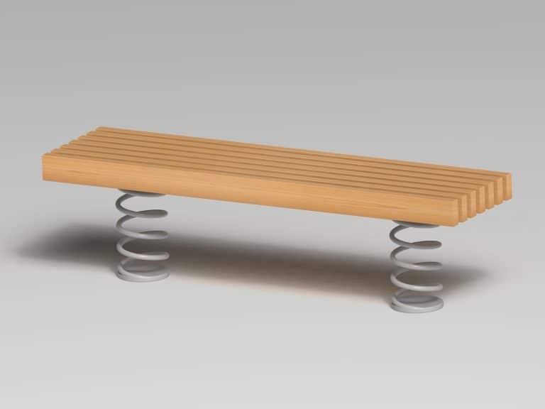 Sit & Move Bench 180 x 46 cm