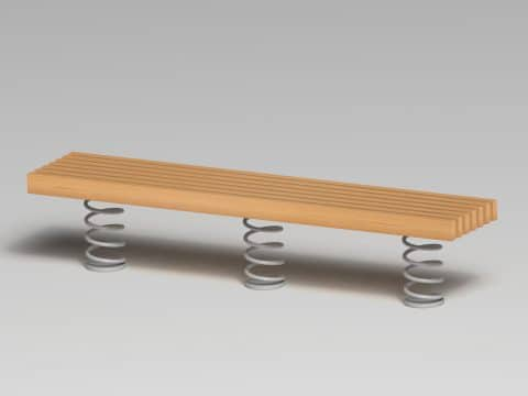 Sit & Move Bench 240 x 46 cm