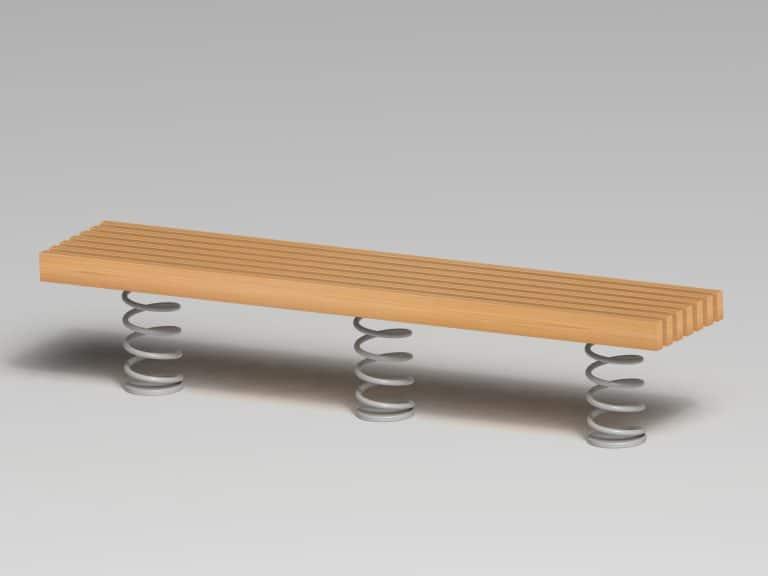 Sit & Move Bench 240 x 46 cm