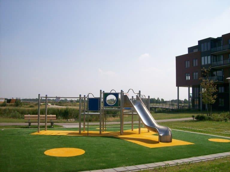 Spielanlage Amsterdam Edelstahl