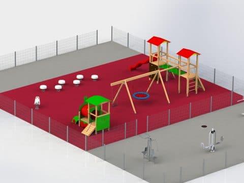 Planung Spielplatz und Fitnessparcours