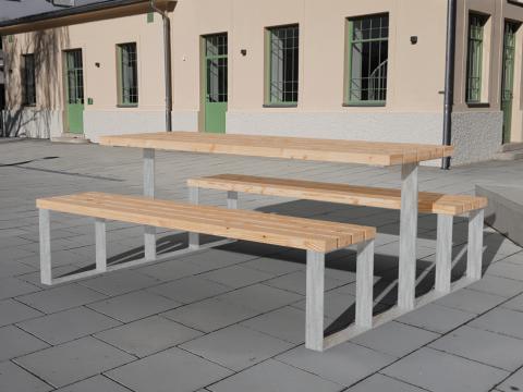 Tischbankkombination ohne Lehne Kinder