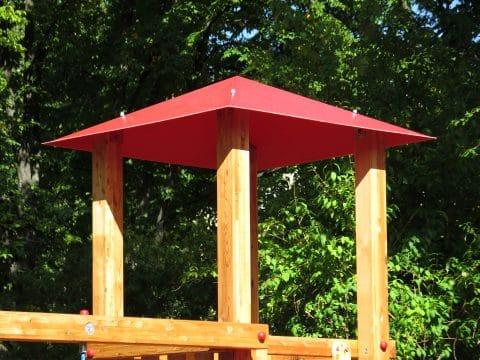 Walmdach für Spielturm