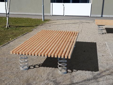 Sit & Move Bench 240x130cm