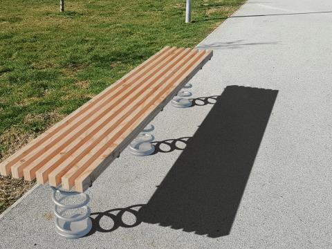 Sit & Move Bench 240x46cm