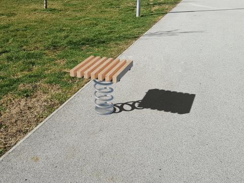Sit & Move Bench 46 x 46 cm