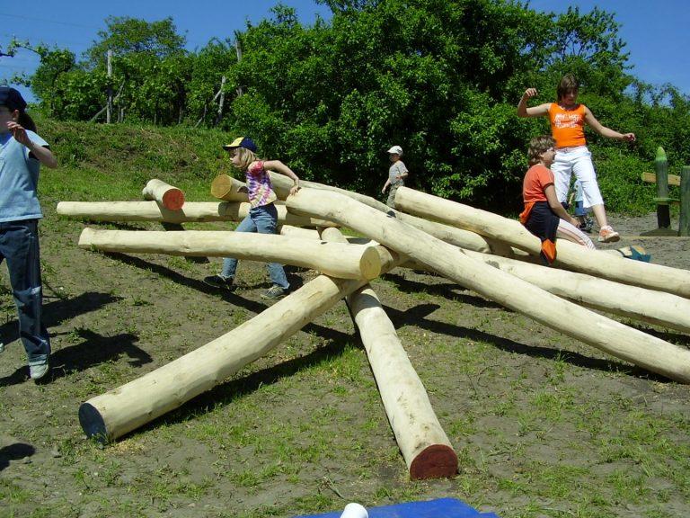 Kletterhaufen für Kinderspielplatz