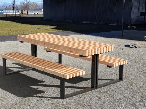 Tisch-Bank-Kombination Urbanpur